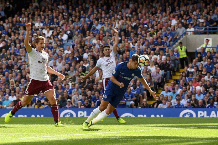 Morata scores against Burnley