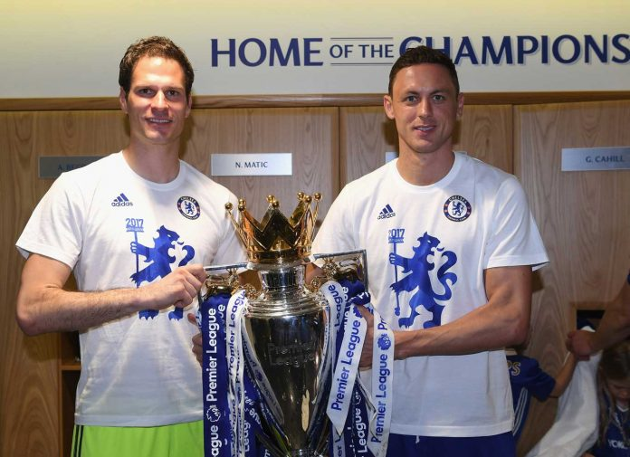 Asmir Begovic and Matic