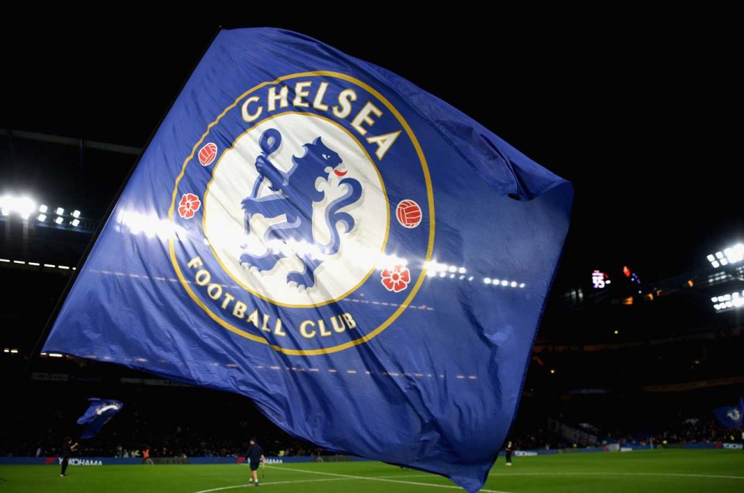 Chelsea flag st Stamford Bridge