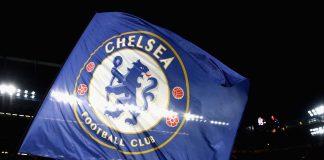 Chelsea flag st Stamford Bridge
