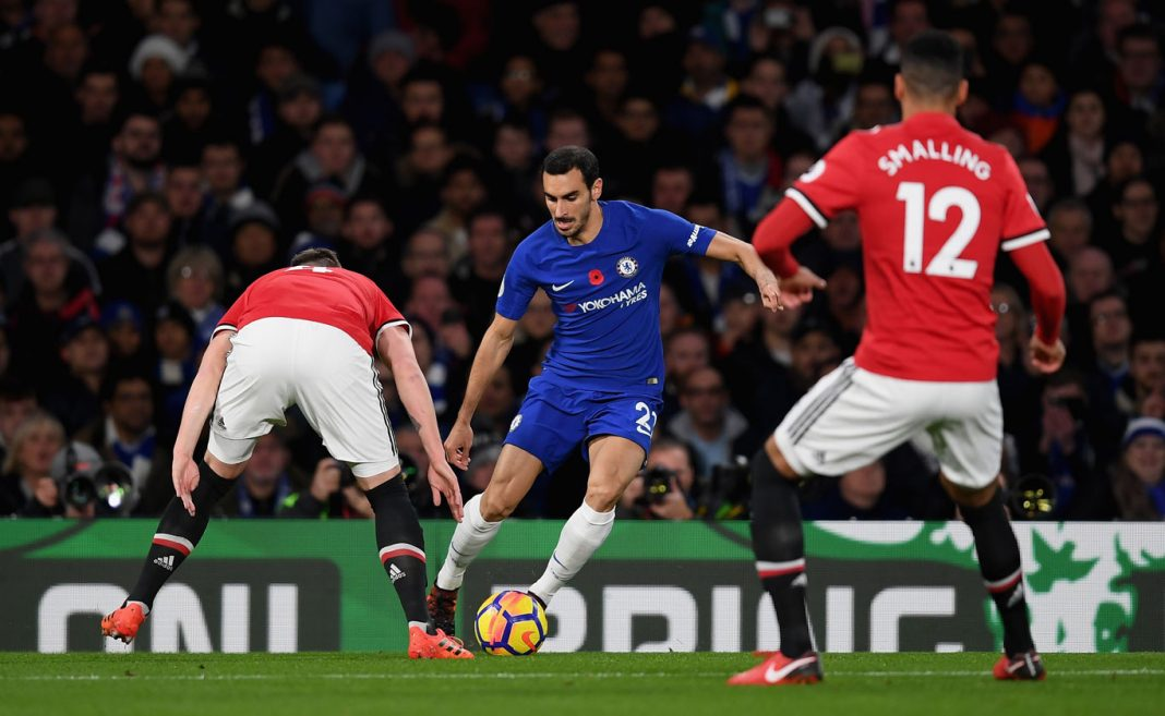 Zappacosta in action against Manchester United